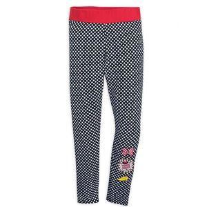 New Disney Minnie Mouse Women's Dot Leggings